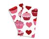 Baker Lovers Dream Tea Towels Set of 2-Pink Cupcakes