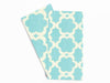 Baker Lovers Dream Tea Towels Set of 2-Aqua Lattice