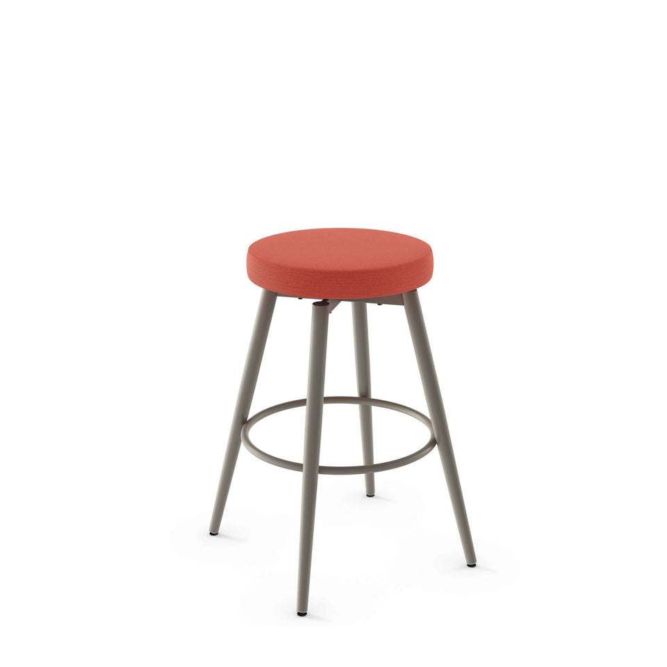 Amisco Nox Swivel Bar Stool