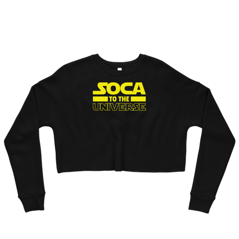 Soca to the Universe - Crop Sweatshirt