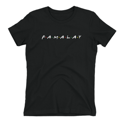 Famalay - Ladies Fitted Tee