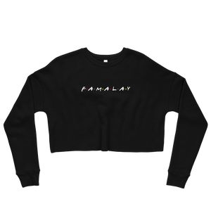 Famalay - Ladies Crop Sweatshirt