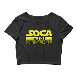 Soca to the Universe - Ladies Crop Top