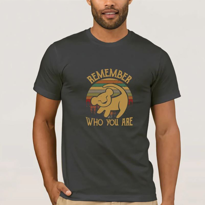 "T-shirt Simba ""Remember who you are"""