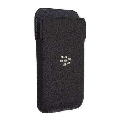 BlackBerry - BlackBerry Classic 純正 Leather Pocket case - caseplay