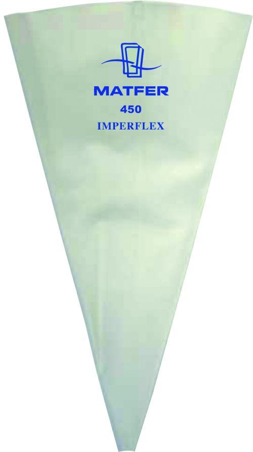Imperflex Heavy Duty Polyurethane Pastry Bags - Package of 10   (Matfer Bourgeat)