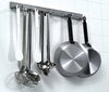 Kitchen utensil hanging rail: Length 39 3/8 in.