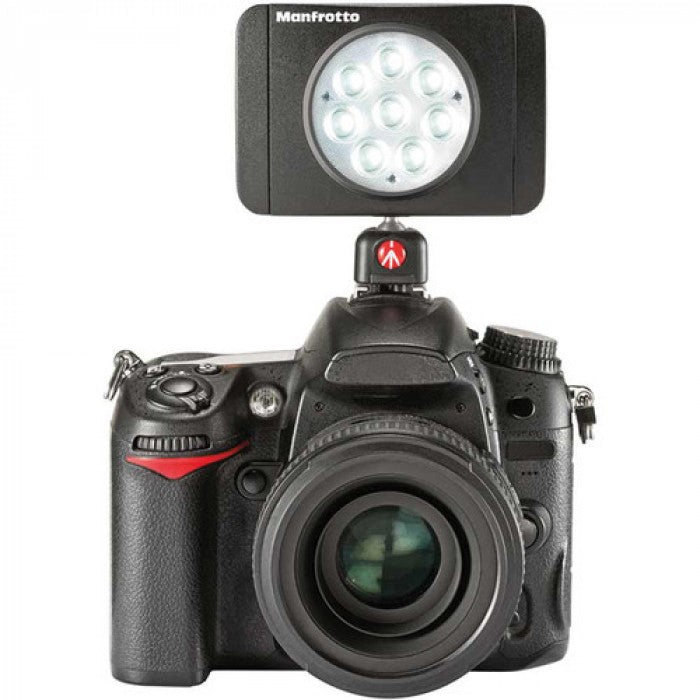 Manfrotto LED Light Lumimuse 8 LED, Black, Snap-Fit Filter Mount