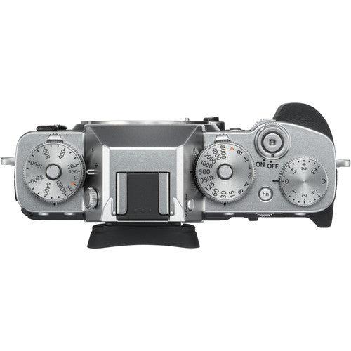 FUJIFILM X-T3 Mirrorless Digital Camera Body (Silver)