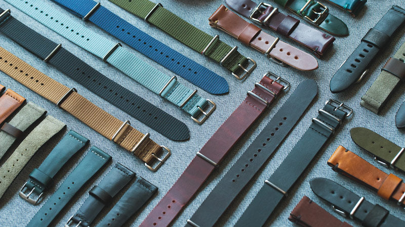Assortment of straps