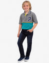 BOYS FELT PATCH POLO SHIRT - U.S. Polo Assn.