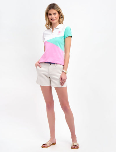 COLORBLOCK POLO SHIRT