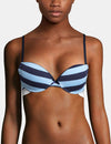 CONVERTIBLE BACK STRIPE BRA