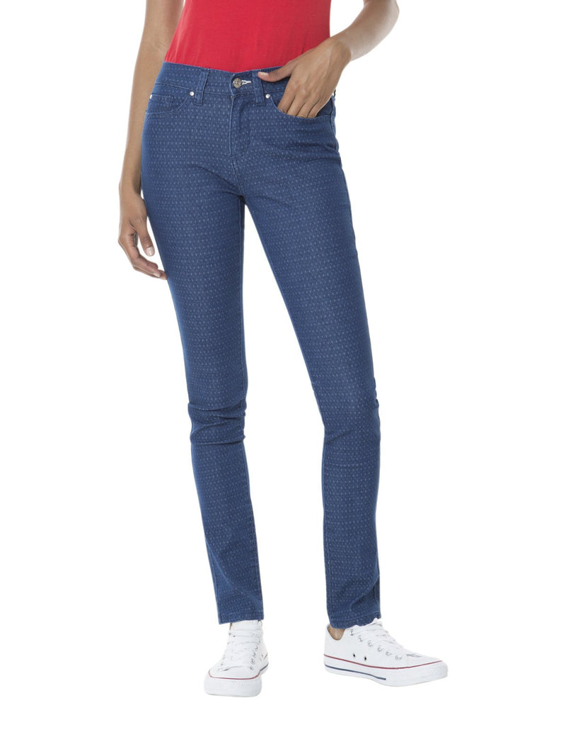 Darlington Skinny Fit Printed Jean