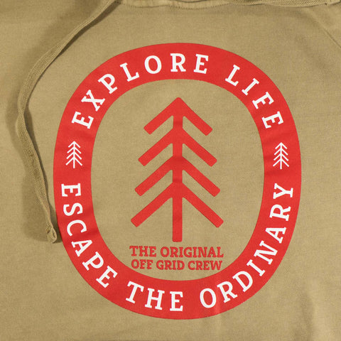 Image of Explore Life Hoodie <BR>(Order One Size Down)