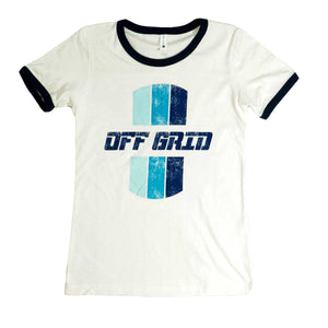 Women's Ringer OGC - White/Blue