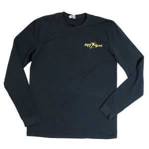 Hook It LS Tee - Black/Yellow