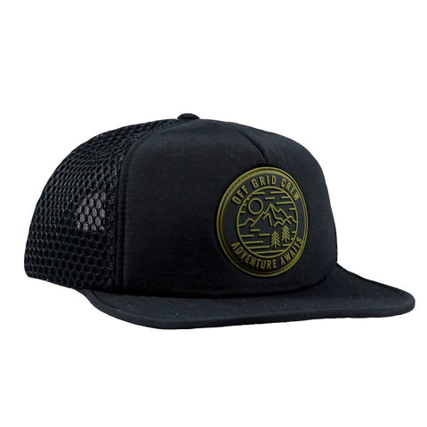 Adventure Awaits OGC Hat - Black/Green