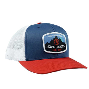 Explore Life OGC Hat - Blue/White/Red