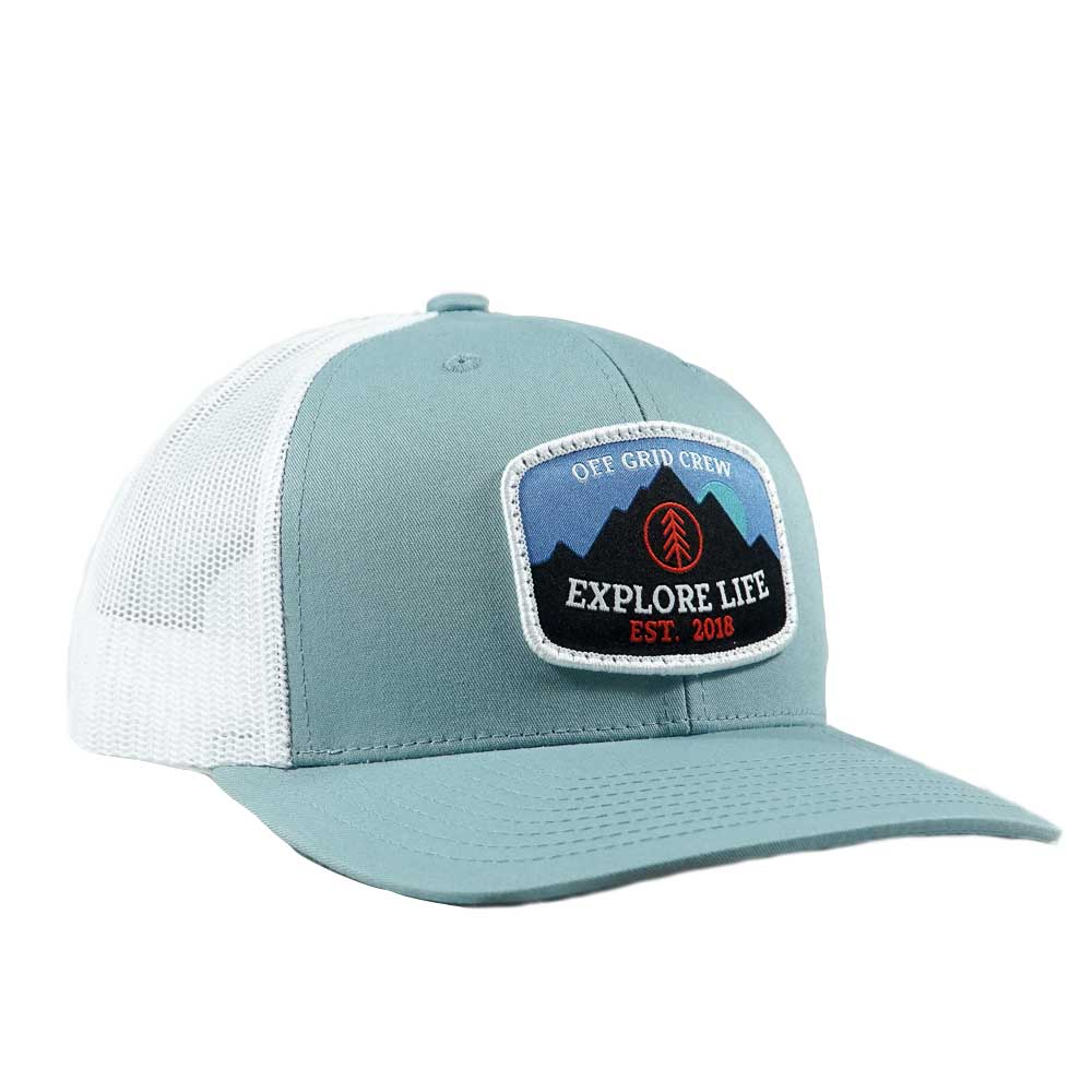 Explore Life OGC Hat - Teal/White
