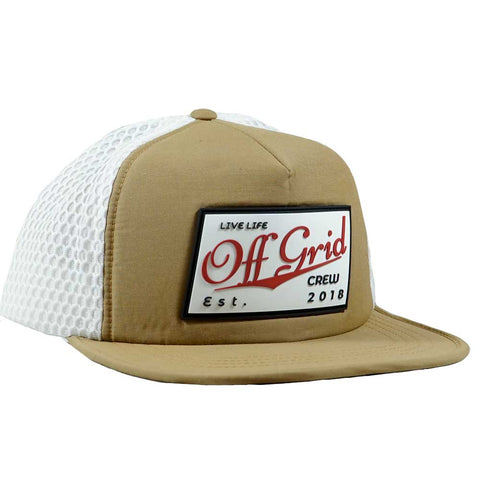 Image of Vintage OGC Hat -Tan/White