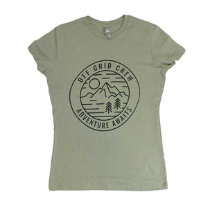 Women's Adventure Tee  - Green