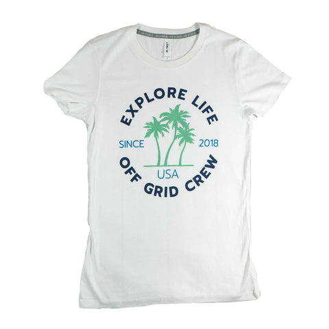 Women's Explore Life Off Grid Tee