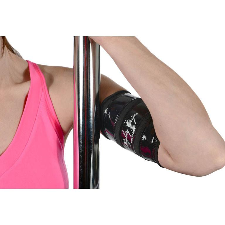 Mighty Grip Upper Arm Protectors for Pole Dancing Black