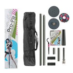 Pro-Fit Portable Dance Pole with LED Light and Carry Bag