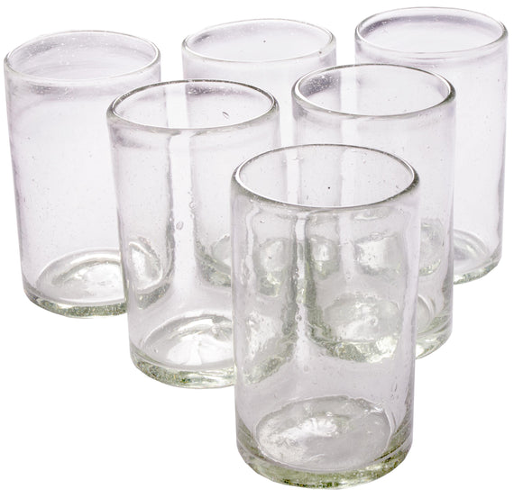 Orion Natural 16 oz Tumbler - Set of 6 - Orion's Table Mexican Glassware