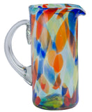 Orion Solid Confetti 56 oz Margarita Pitcher - Orion's Table Mexican Glassware