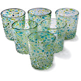 Orion Del Mar 12 oz Short - Set of 6 - Orion's Table Mexican Glassware