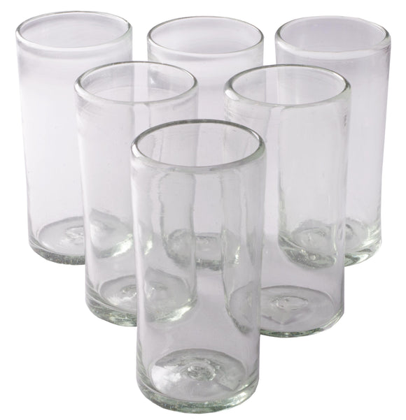 Orion Natural 22 oz Tall Tumbler - Set of 6 - Orion's Table Mexican Glassware