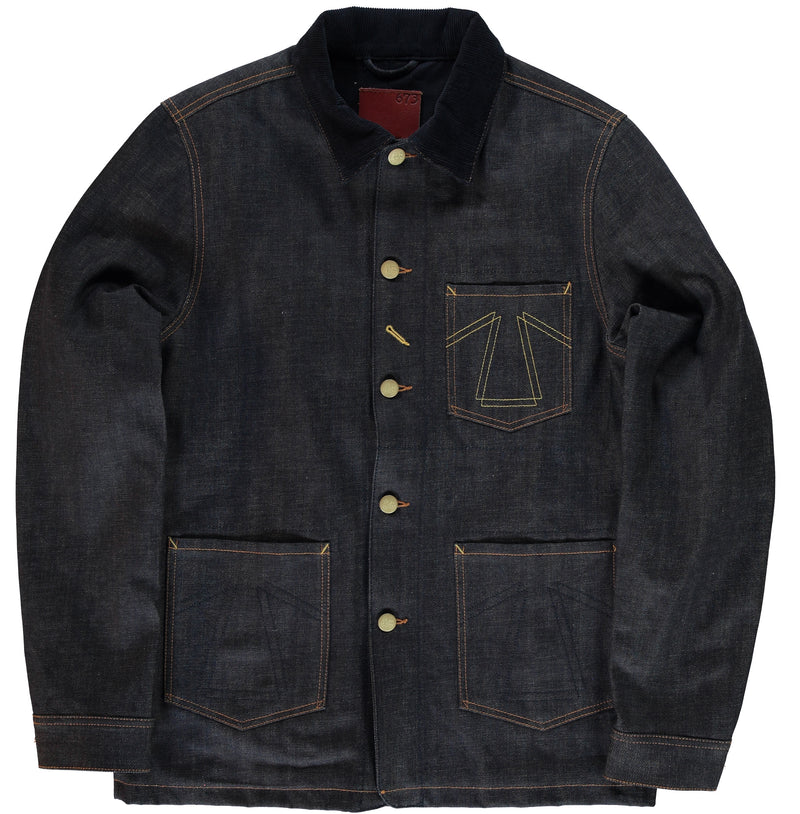 Chore Jacket 673 Selvedge Denim