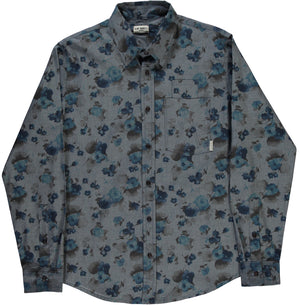 Combat Shirt Faded Flowers