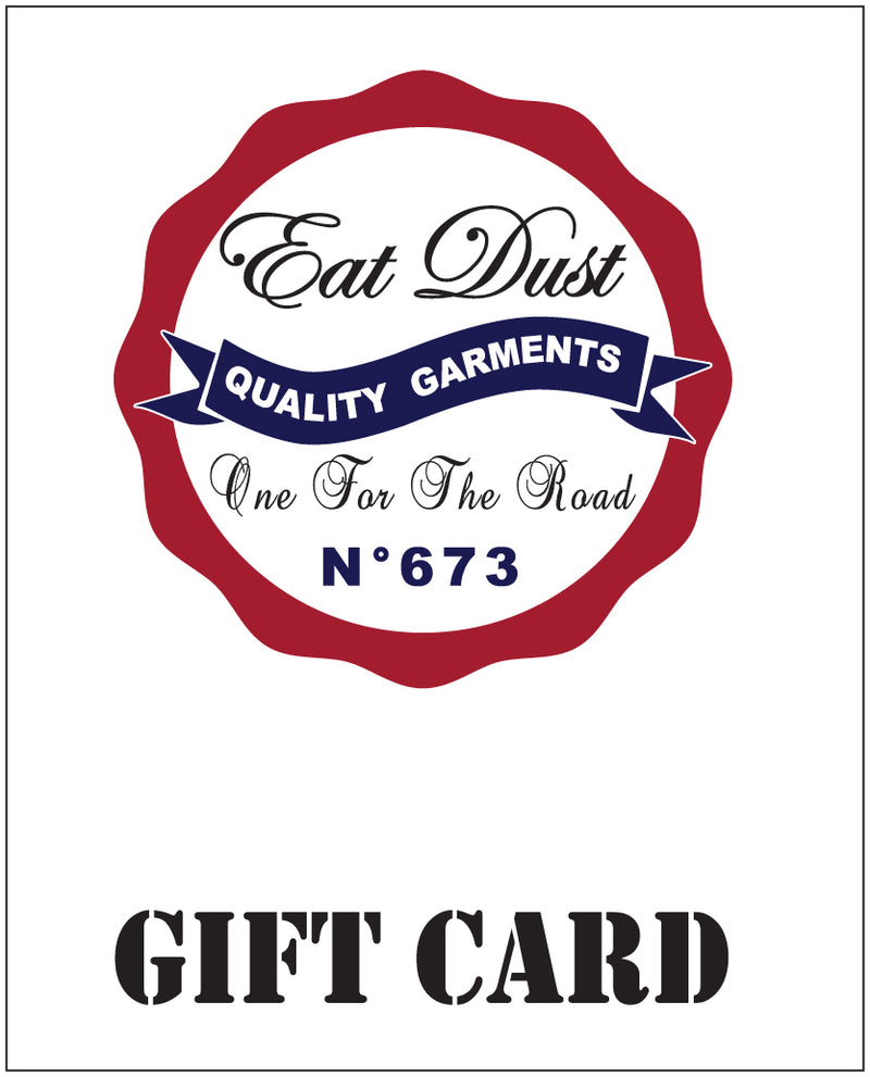 X Eat Dust Gift Card