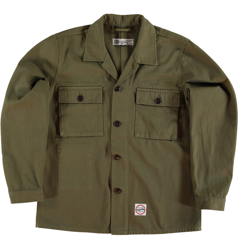 Troy Shirt HBT Dark Olive