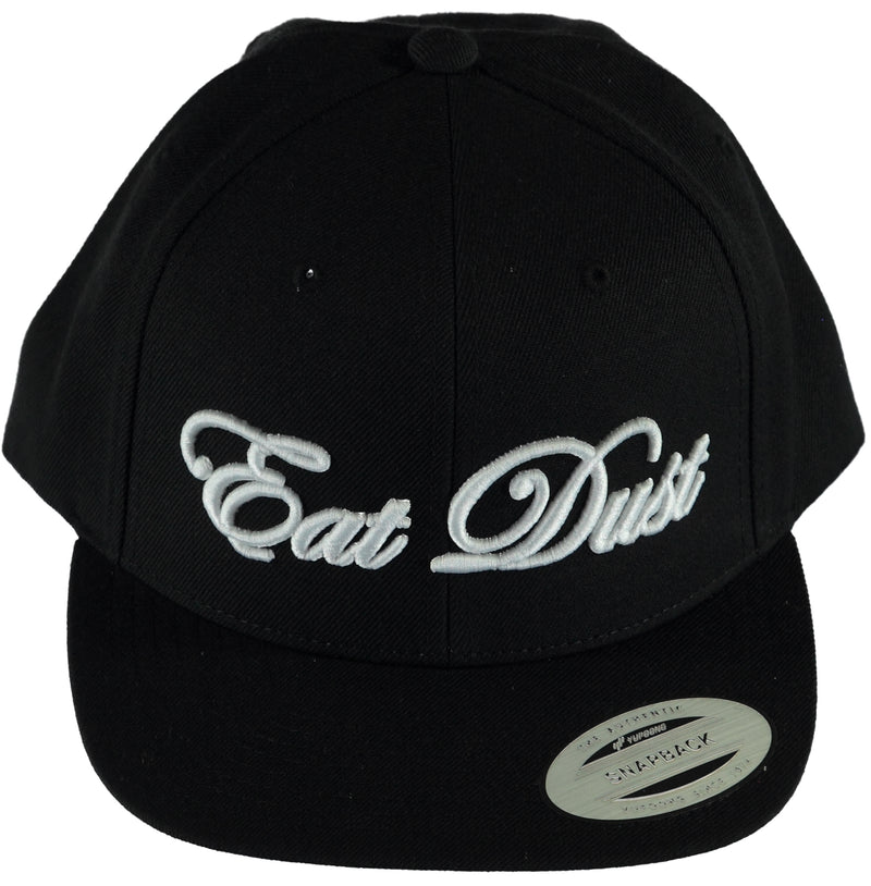 X Snapback Eat Dust Black