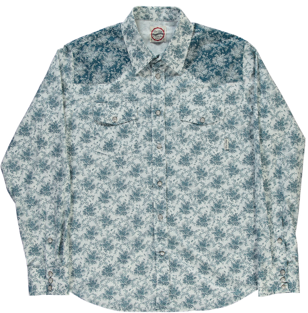 Western Shirt Power Flower