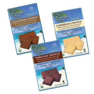 Coconut Secret Low-glycemic organic chocolate bars