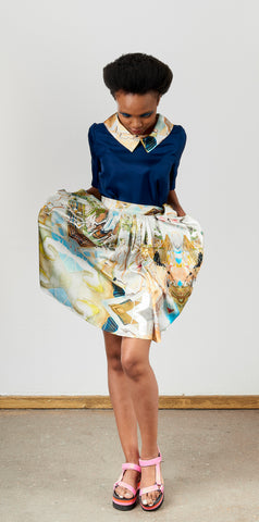 Marlene Steyn - 3D Pocket Skirt