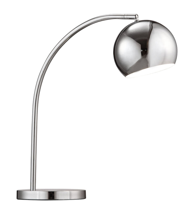 Solaris Table Lamp From the Lighting Collection in Chrome with In-line Switch. Solaris Table Lamps bulb type is G45 with Max bulb watt at 40W with socket size E12