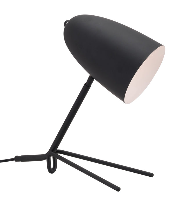 Jamison Table Lamp Matt Black From the Lighting Collection in Steel with IN-LINE, SUIT DIMMER. Jamison Table Lamps bulb type is G50 with Max bulb watt at 40W with socket size E12