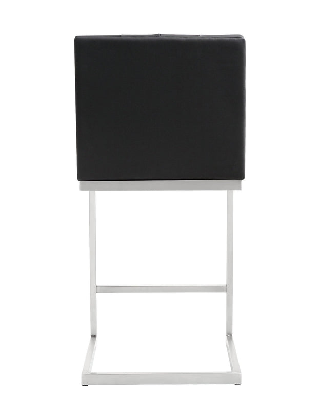 Helsinki Black Steel Counter Stool (Set of 2)