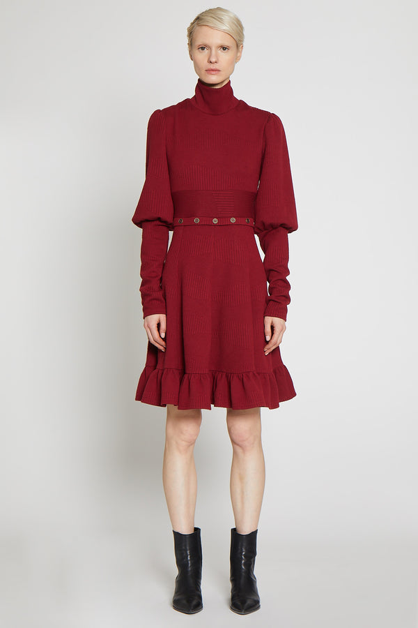 Shonna Dress, Burgundy