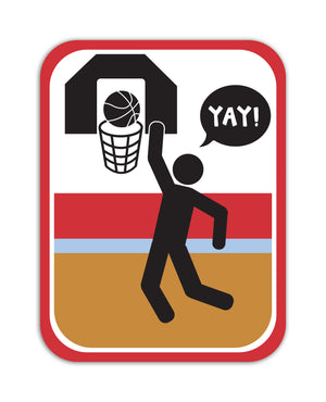 YAY! Picto Basketball! Sticker
