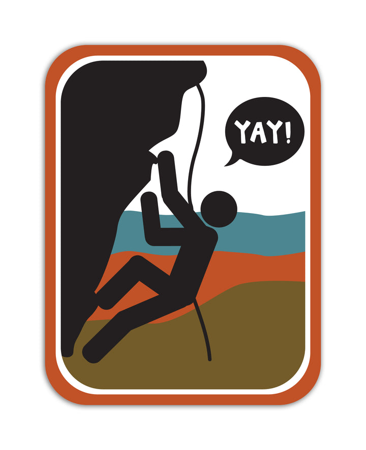 YAY! Picto Climbing! Sticker