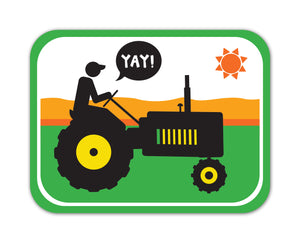 YAY! Picto Farmers! Sticker