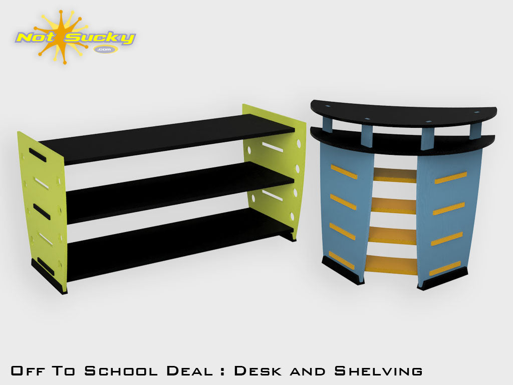 Back to School Flat Pack  Furniture Deal