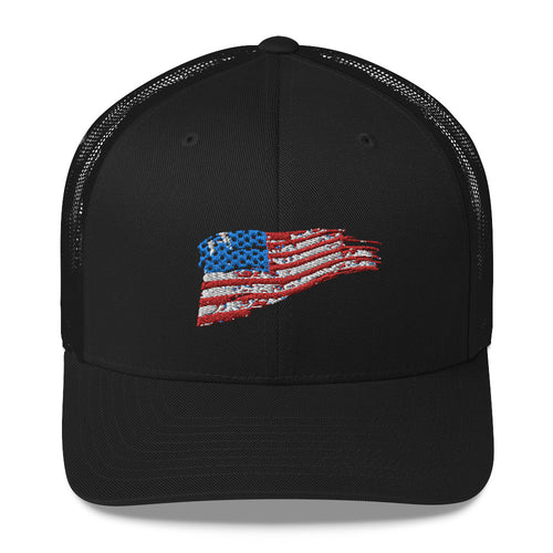 Old Rugged Flag Trucker Cap